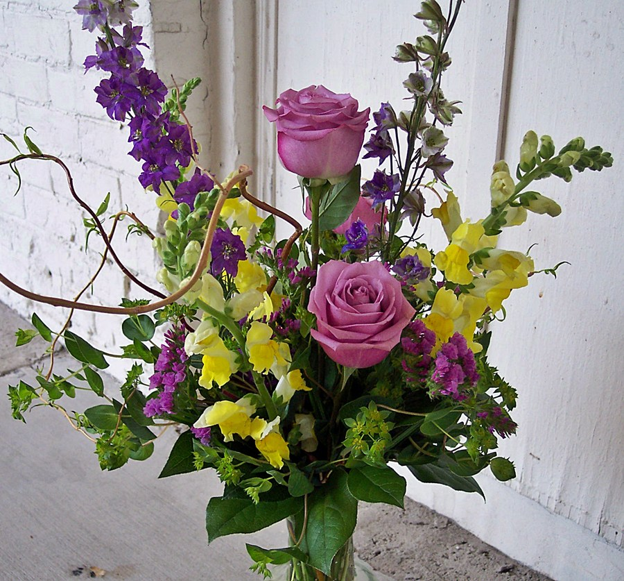 Rose Keepsake Vase $74.95