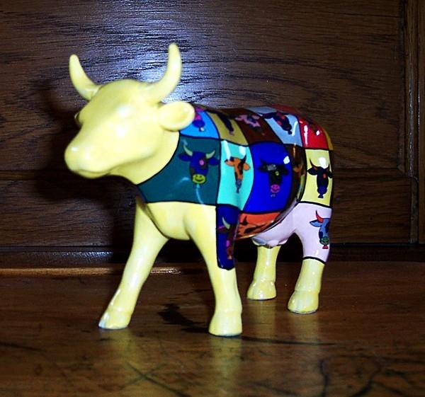 Pop Art Cow-2