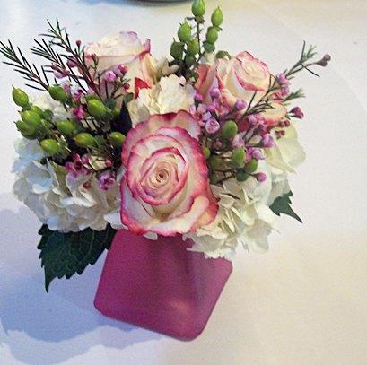 Hydrangea Rose Vase