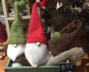 Curly Hat Santas