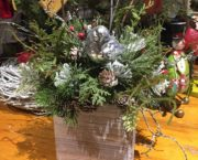 Silk Christmas Arrangement