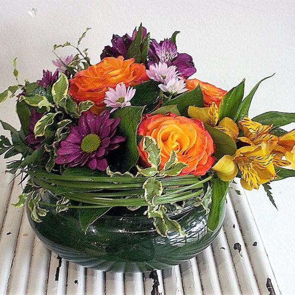 Bulb Vase Arrangement