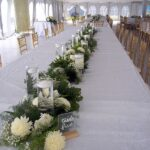 Garland with whites-GT resort